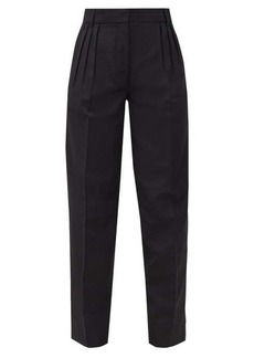 Acne Studios Pana pleated grain-de-poudre trousers