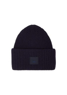 Acne Studios Pansy ribbed-knit wool beanie hat
