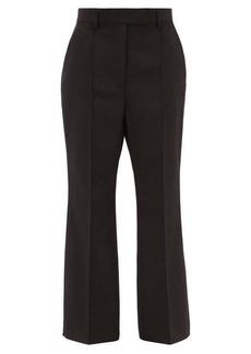 Acne Studios Patrina flared wool-blend trousers