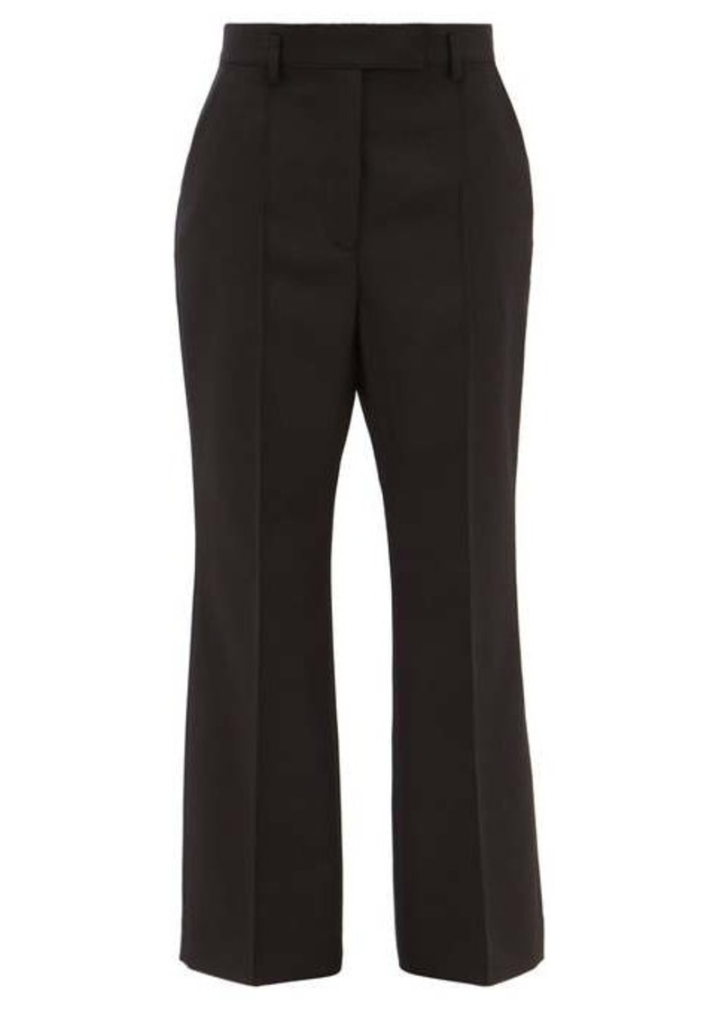 Acne Studios Patrina flared wool-blend trousers