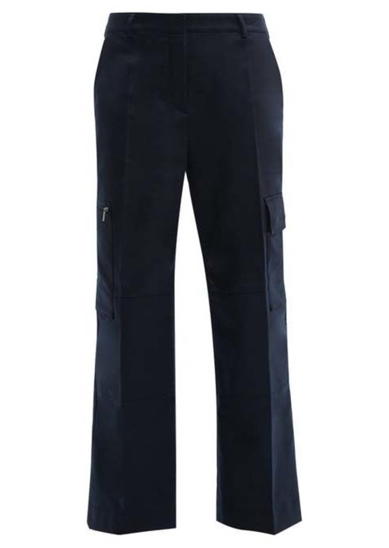 Acne Studios Patya patch-pocket twill trousers