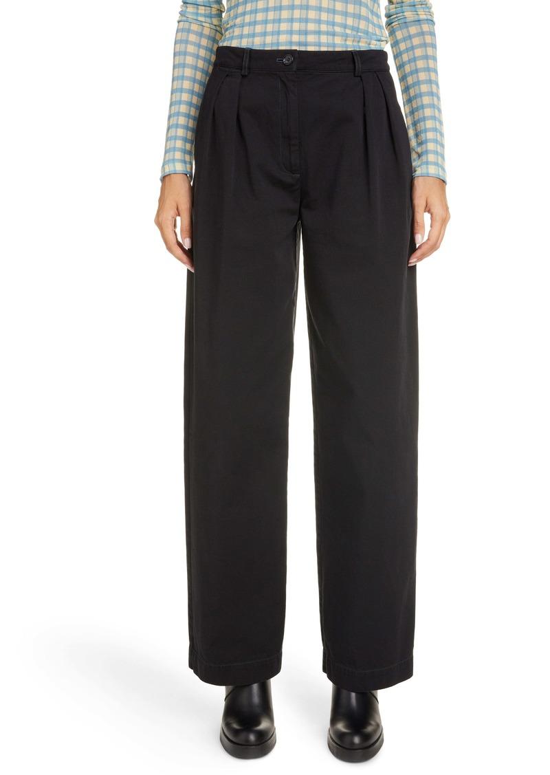 Acne Studios Pavi Cotton Twill Pants