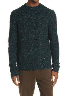 Acne Studios Peele Nep Wool Blend Crewneck Sweater