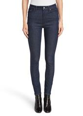 Acne Studios Peg High Waist Skinny Jeans (Indigo)