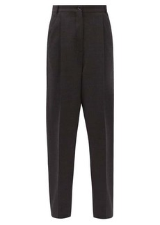 Acne Studios Peggerine high-rise wool-blend trousers