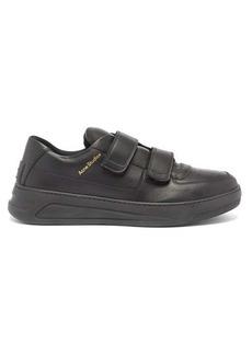 Acne Studios Perey Velcro leather trainers