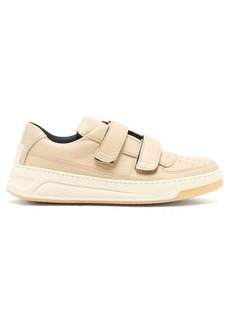 Acne Studios Perey Velcro-strap leather trainers
