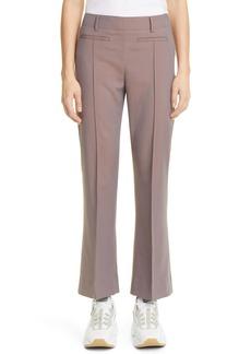 Acne Studios Phila Iridescent Wool Flare Crop Pants