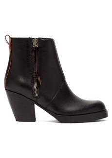 Acne Studios Pistol leather ankle boots