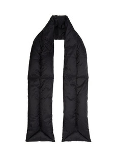 Acne Studios Quilted padded scarf