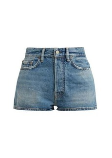 Acne Studios Ren mid-rise denim shorts
