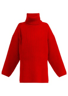 Acne Studios Ribbed-knit roll-neck wool sweater