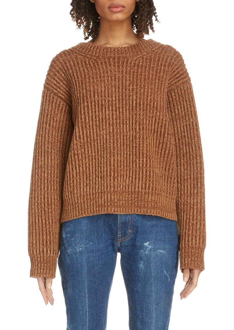 Acne Studios Ribbed Oversized Sweater