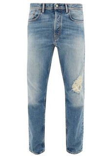 Acne Studios River distressed slim-fit jeans