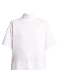 Acne Studios Roll-neck cotton-jersey top