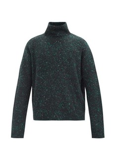Acne Studios Roll-neck marled wool-blend sweater