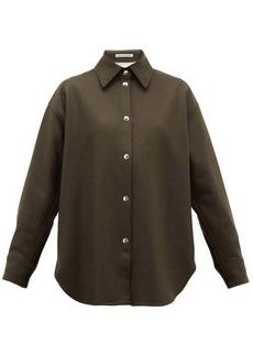 Acne Studios Sharwin wool-blend flannel overshirt
