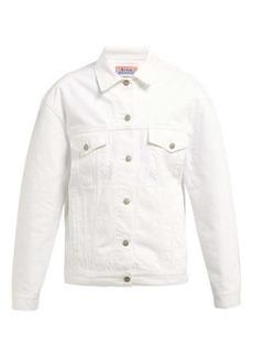 Acne Studios Snow oversized denim jacket