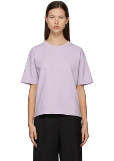 Acne Studios SSENSE Exclusive Purple Logo T-Shirt