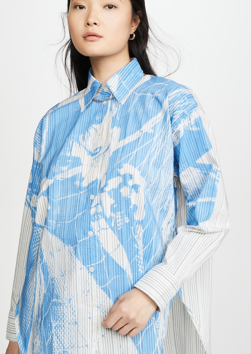 Acne Studios Stella Cotton Magazine Button Down