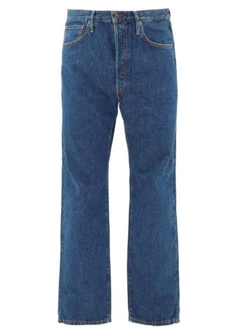 Acne Studios 2003 straight-leg cotton jeans