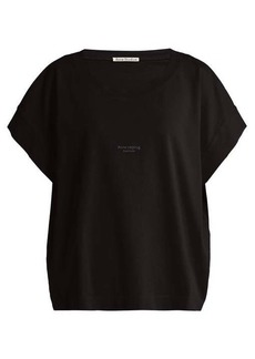 Acne Studios Tohnek boat-neck cotton T-shirt