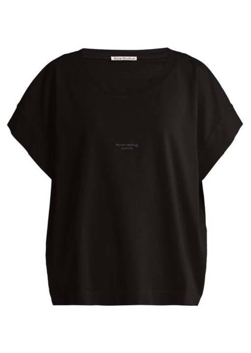 Acne Studios Tohnek boat-neck cotton T-shirt