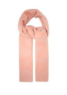 Acne Studios Toronty logo-intarsia wool-blend scarf