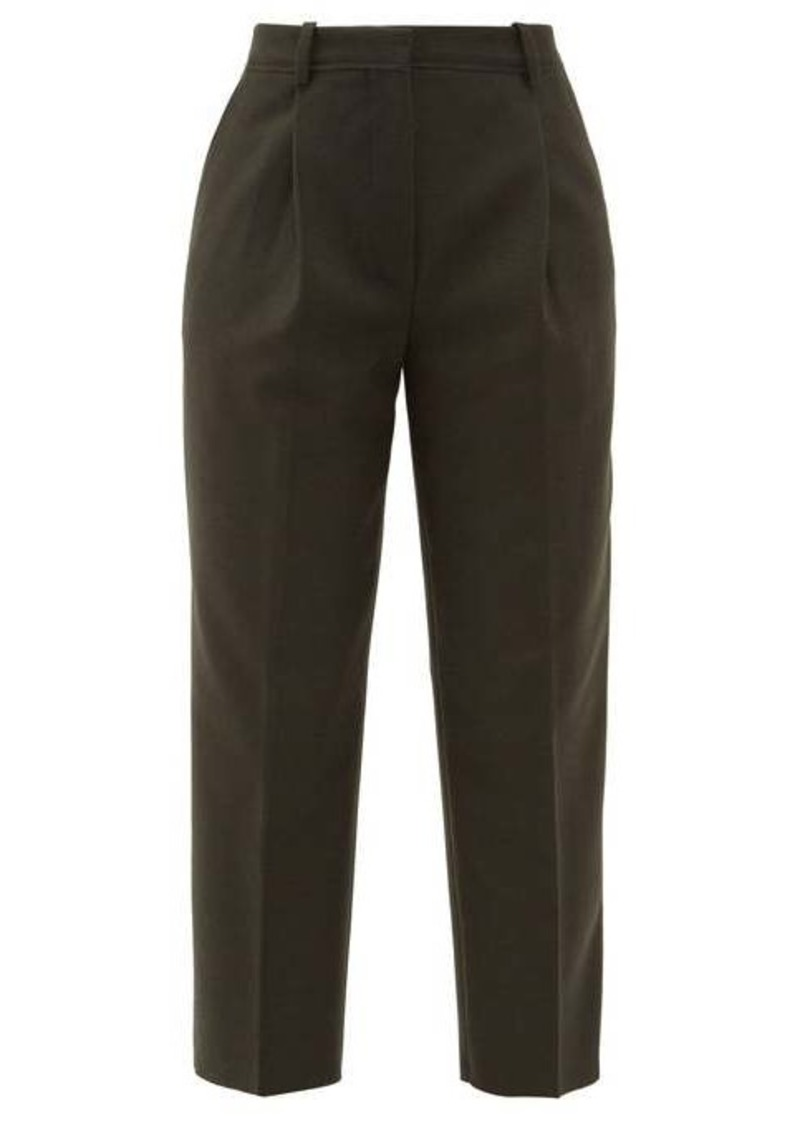 Acne Studios Trea wool-blend straight-leg tailored trousers