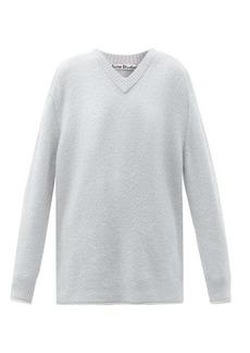 Acne Studios V-neck dropped-sleeve sweater