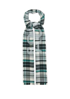 Acne Studios Victoria checked-wool scarf