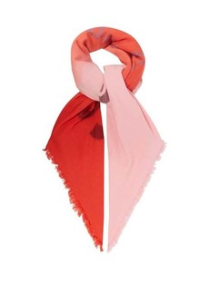 Acne Studios Vinny logo-jacquard cotton-blend scarf