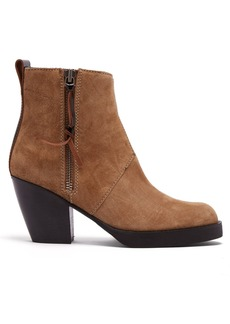 Acne Studios Western-style suede ankle boots