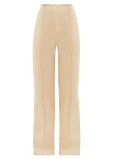 Acne Studios Whipstitched flared trousers