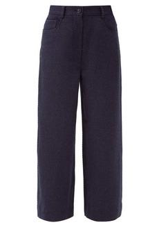 Acne Studios Priska wide-leg wool-blend twill trousers