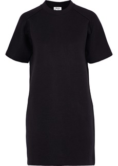 Acne Studios Woman Cotton-blend Jersey Mini Dress Black