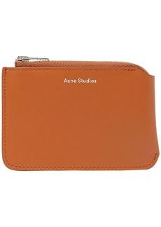 Acne Studios Woman Garnet S Leather Coin Purse Tan