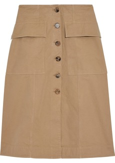 Acne Studios Woman Irene Cotton-twill Skirt Tan