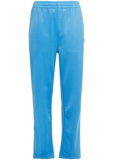 Acne Studios Woman Jersey Straight-leg Pants Azure