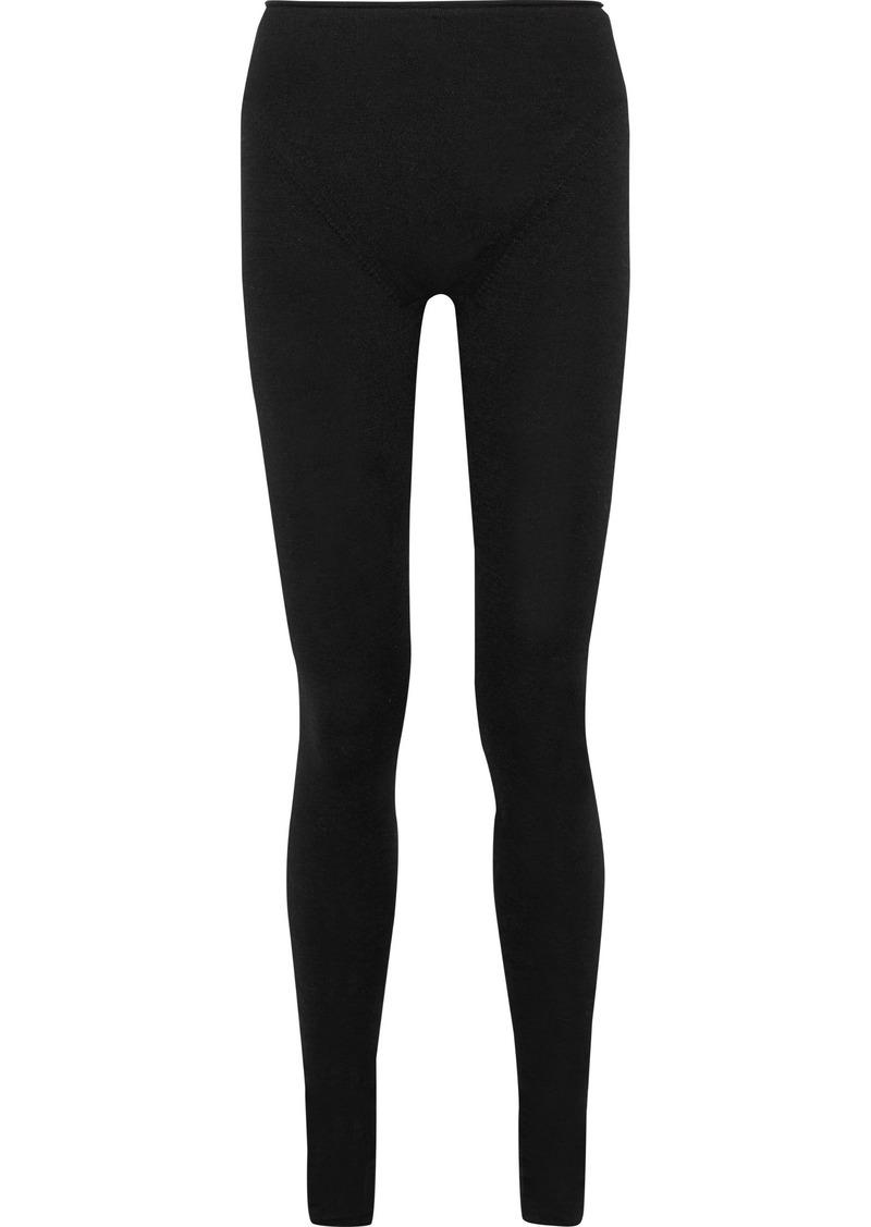 Acne Studios Woman Jong Alpaca-blend Leggings Black