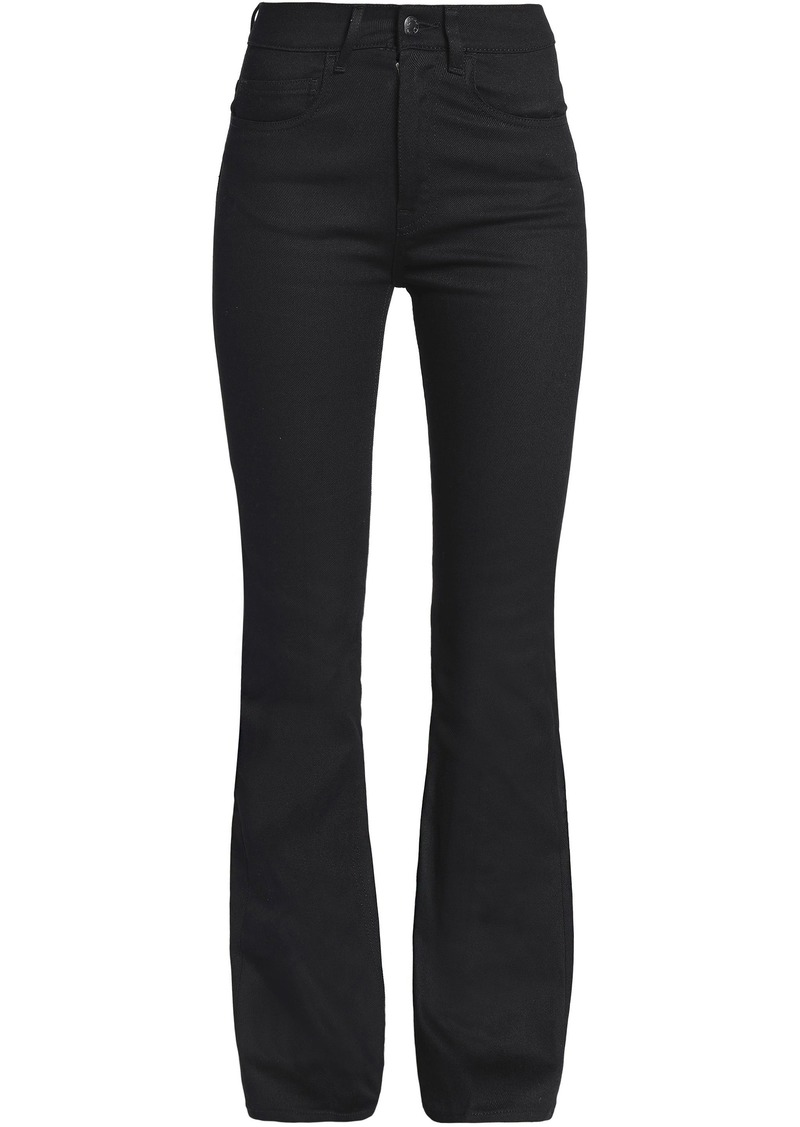 Acne Studios Woman Lita High-rise Bootcut Jeans Black