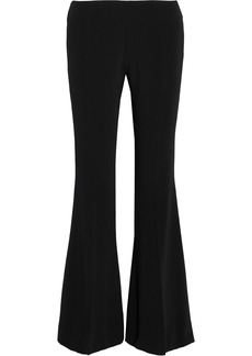 Acne Studios Woman Mello Stretch-crepe Flared Pants Black