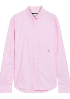 Acne Studios Woman Cotton Oxford Shirt Baby Pink