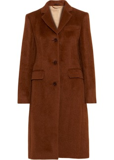 Acne Studios Woman Onita Alpaca And Wool-blend Coat Tan