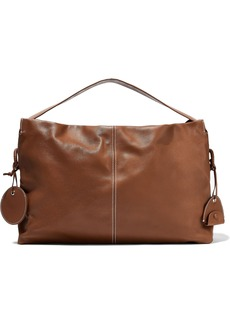 Acne Studios Woman Minimal Leather Tote Light Brown