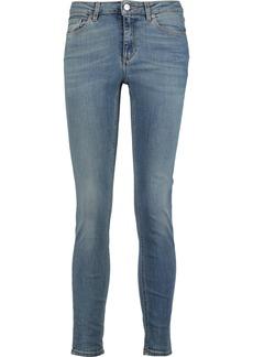 Acne Studios Woman Skin 5 Low-rise Skinny Jeans Mid Denim