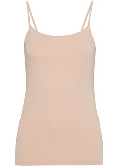 Acne Studios Woman Haya Stretch-cotton Jersey Camisole Sand