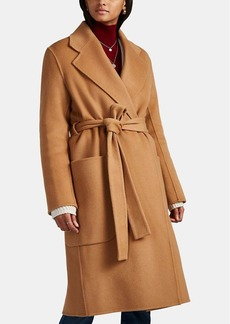 Acne Studios Women's Carice Double-Faced Wool-Cashmere Robe Coat