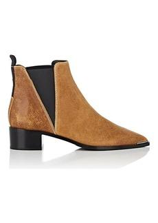 Acne Studios Women's Jensen Waxed Suede Chelsea Boots