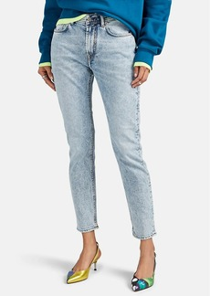 Acne Studios Women's Melk Tapered-Leg Jeans